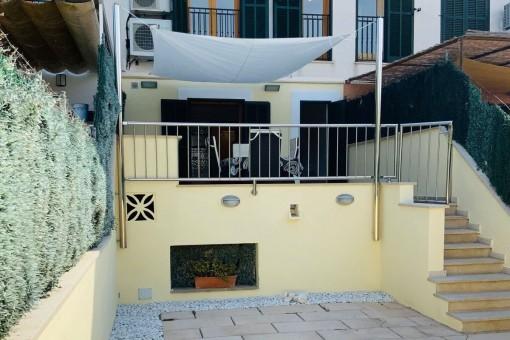 Luminoso adosado con terraza grande y garaje en Alaró